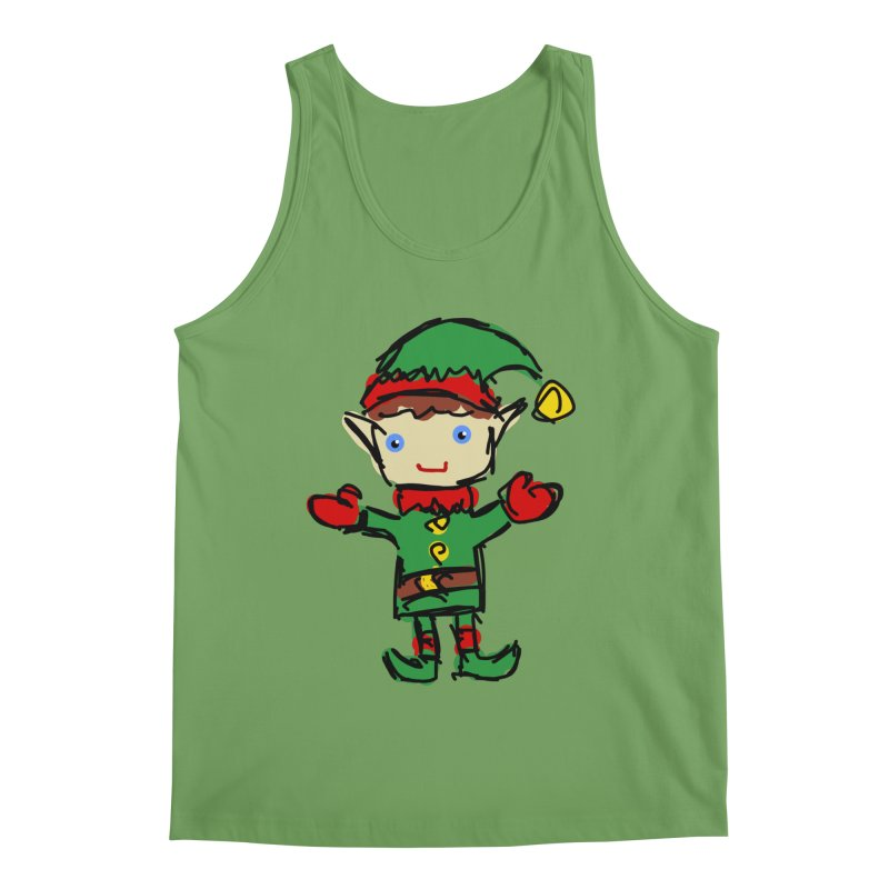 Elf Men's Tank by Stonestreet Designs