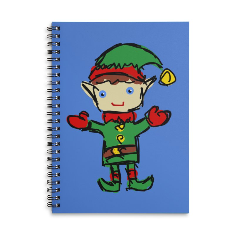 Elf Accessories Notebook by Stonestreet Designs