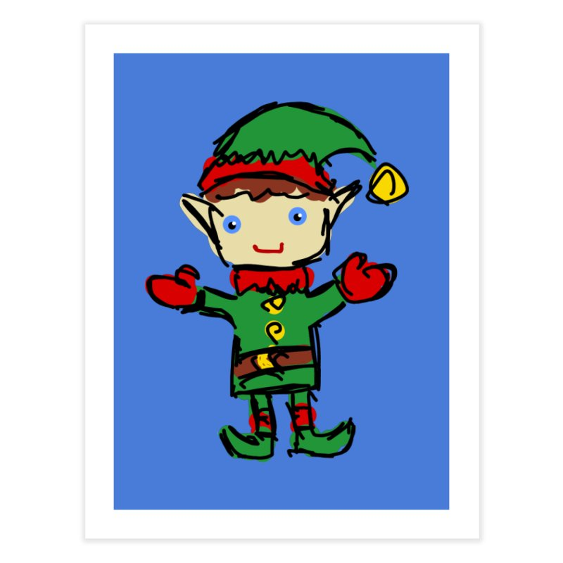 Elf Home Fine Art Print by Stonestreet Designs