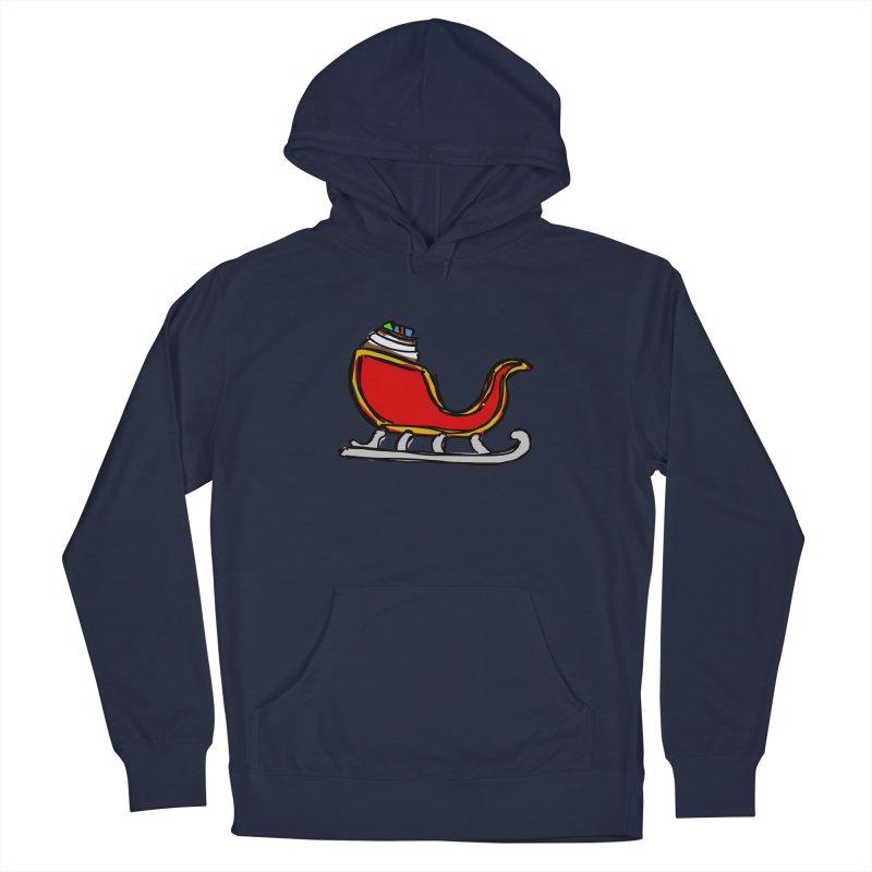 Sleigh Men's Pullover Hoody by Stonestreet Designs