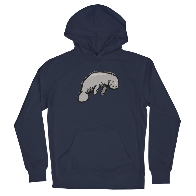 Manatee Men's Pullover Hoody by Stonestreet Designs