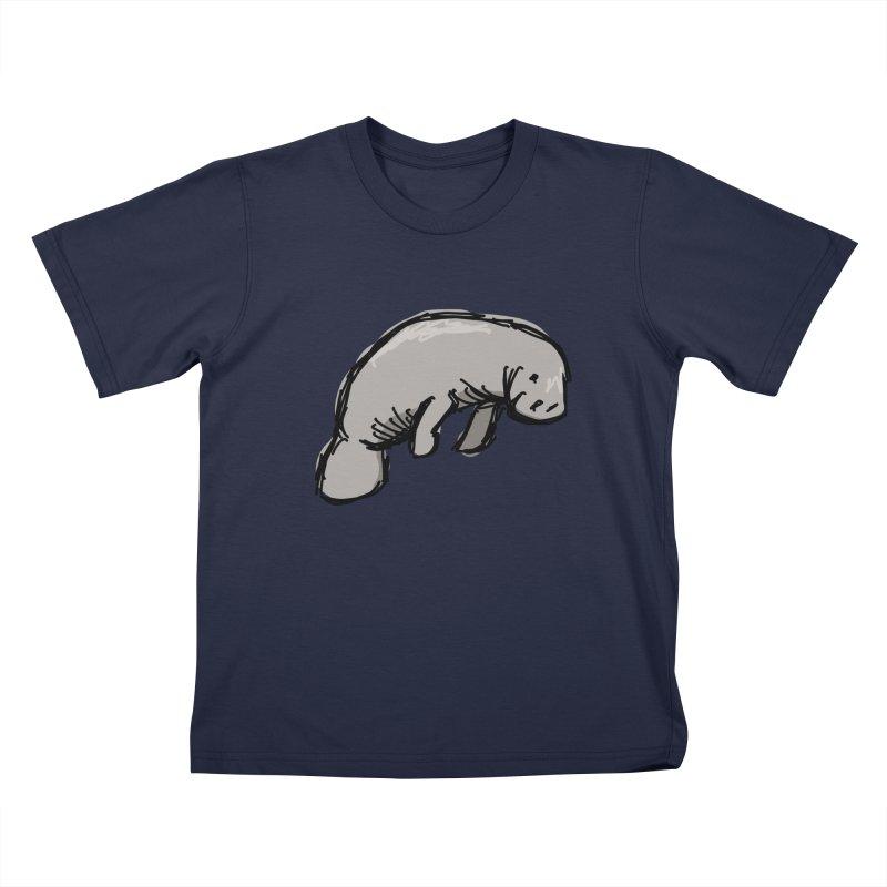 Manatee Kids T-Shirt by Stonestreet Designs