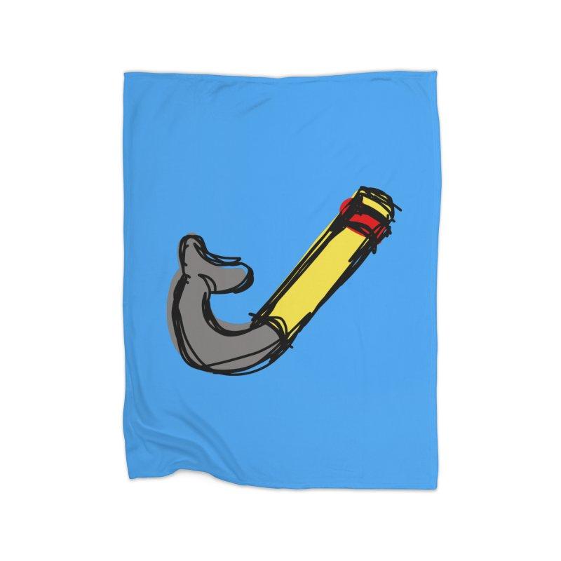 Snorkel Home Blanket by Stonestreet Designs