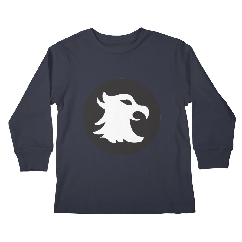 The Cavalier's Shield Kids Longsleeve T-Shirt by Stonestreet Designs