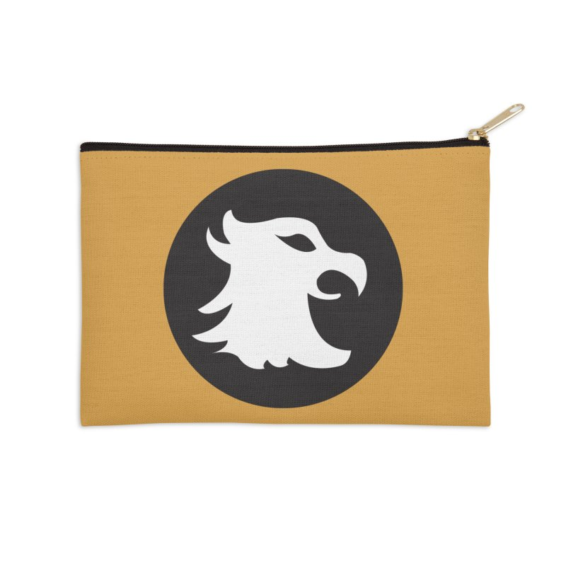 The Cavalier's Shield Accessories Zip Pouch by Stonestreet Designs