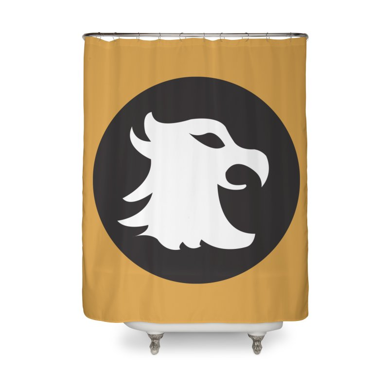 The Cavalier's Shield Home Shower Curtain by Stonestreet Designs