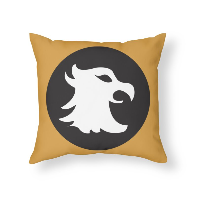 The Cavalier's Shield Home Throw Pillow by Stonestreet Designs