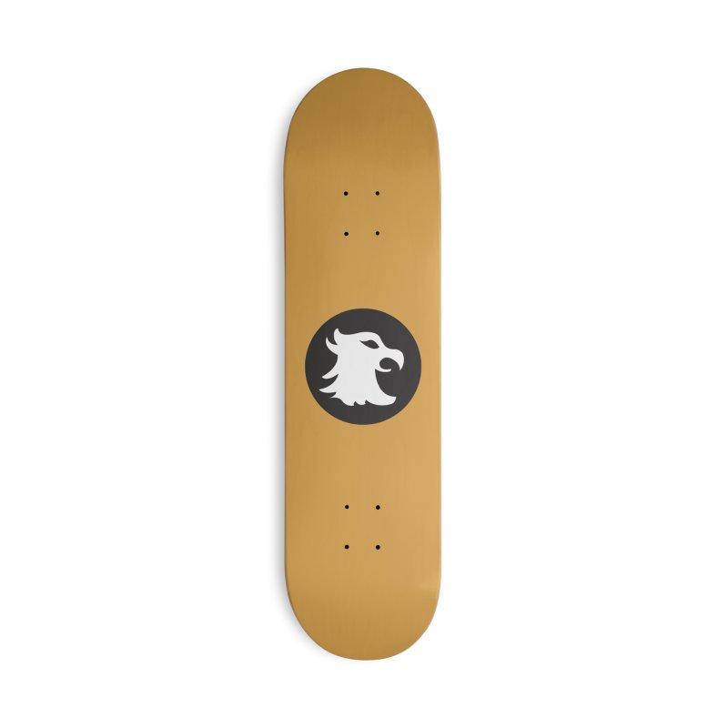 The Cavalier's Shield Accessories Skateboard by Stonestreet Designs