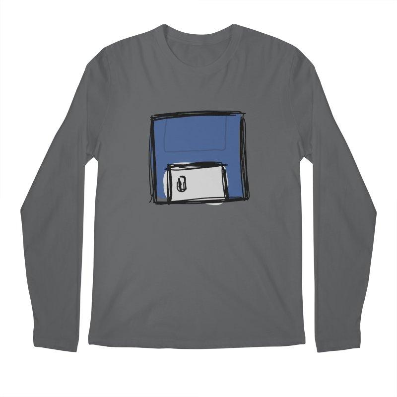 Save Icon Men's Longsleeve T-Shirt by Stonestreet Designs