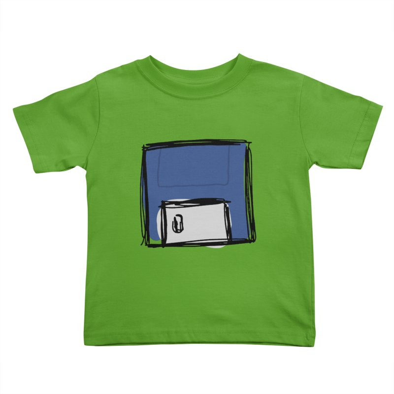 Save Icon Kids Toddler T-Shirt by Stonestreet Designs
