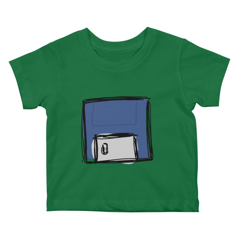 Save Icon Kids Baby T-Shirt by Stonestreet Designs