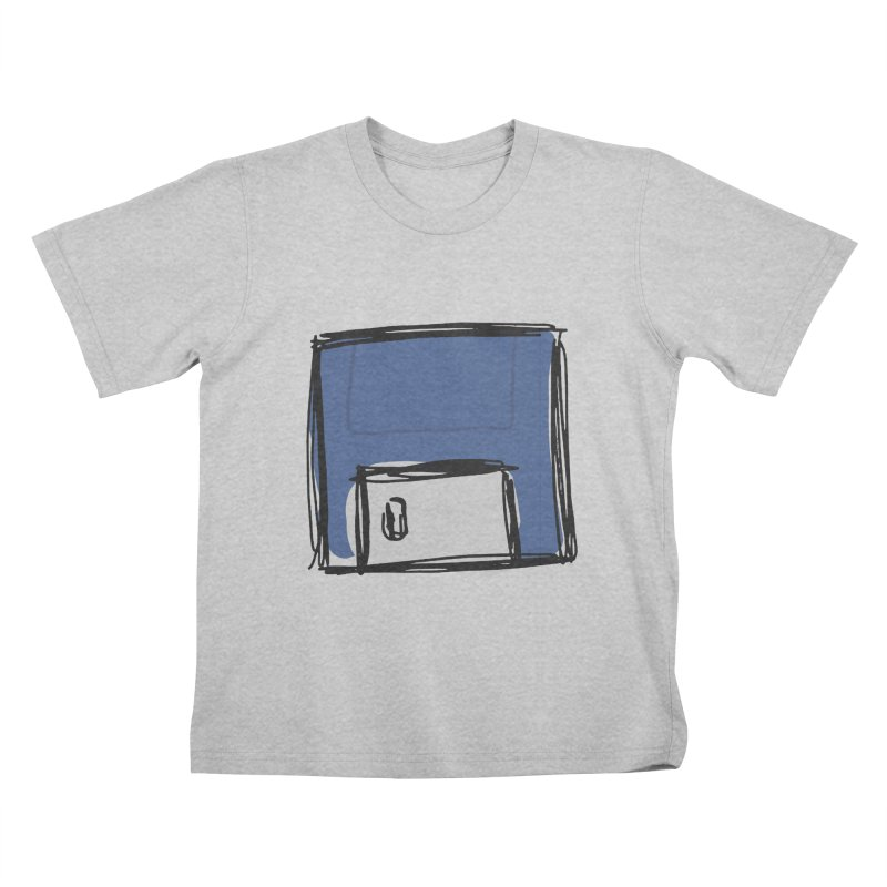 Save Icon Kids T-Shirt by Stonestreet Designs