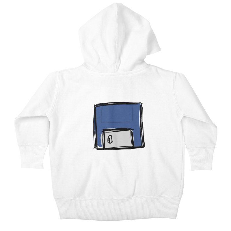 Save Icon Kids Baby Zip-Up Hoody by Stonestreet Designs