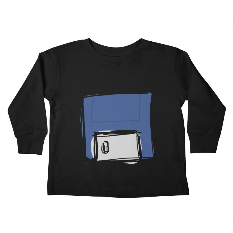 Save Icon Kids Toddler Longsleeve T-Shirt by Stonestreet Designs