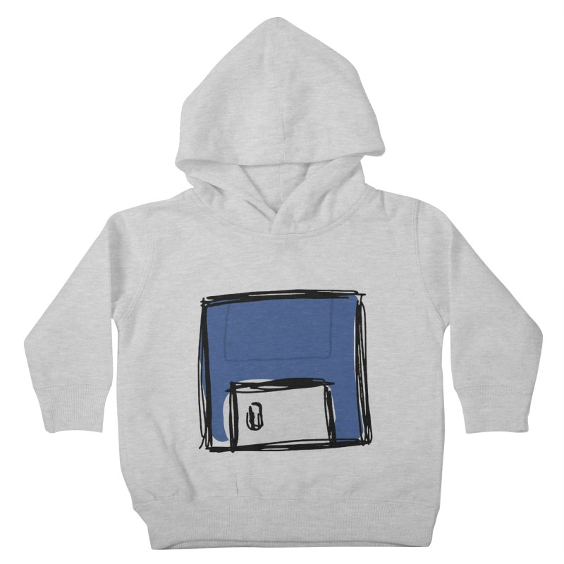 Save Icon Kids Toddler Pullover Hoody by Stonestreet Designs