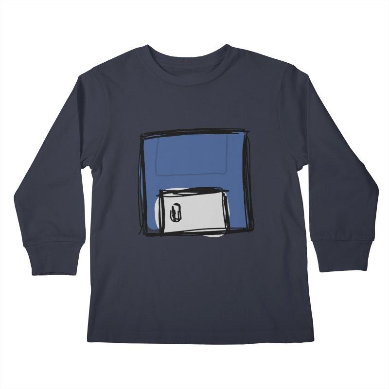Save Icon Kids Longsleeve T-Shirt by Stonestreet Designs