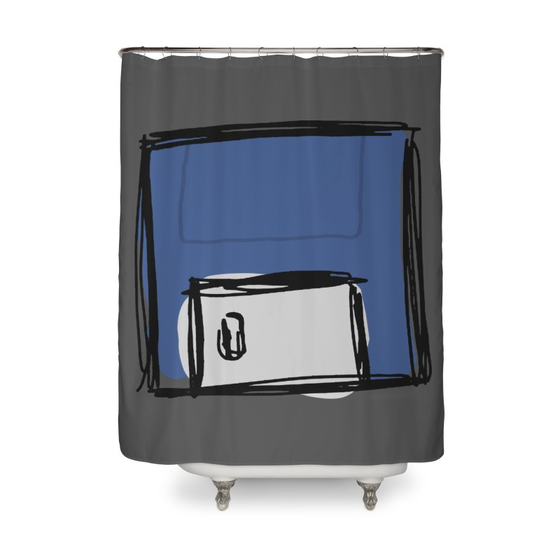 Save Icon Home Shower Curtain by Stonestreet Designs
