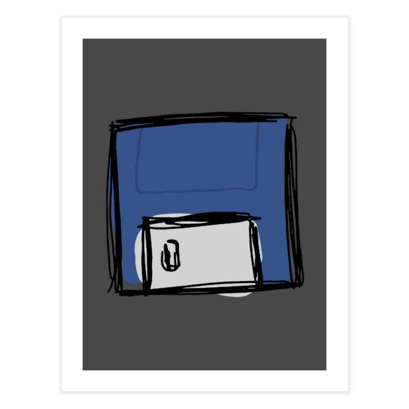 Save Icon Home Fine Art Print by Stonestreet Designs