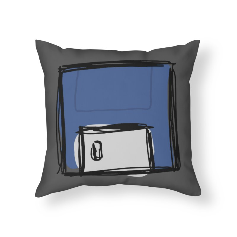 Save Icon Home Throw Pillow by Stonestreet Designs