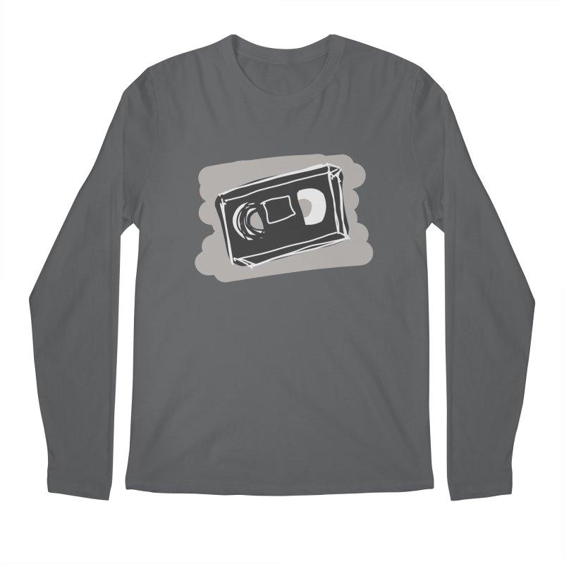 VHS Tape Men's Longsleeve T-Shirt by Stonestreet Designs