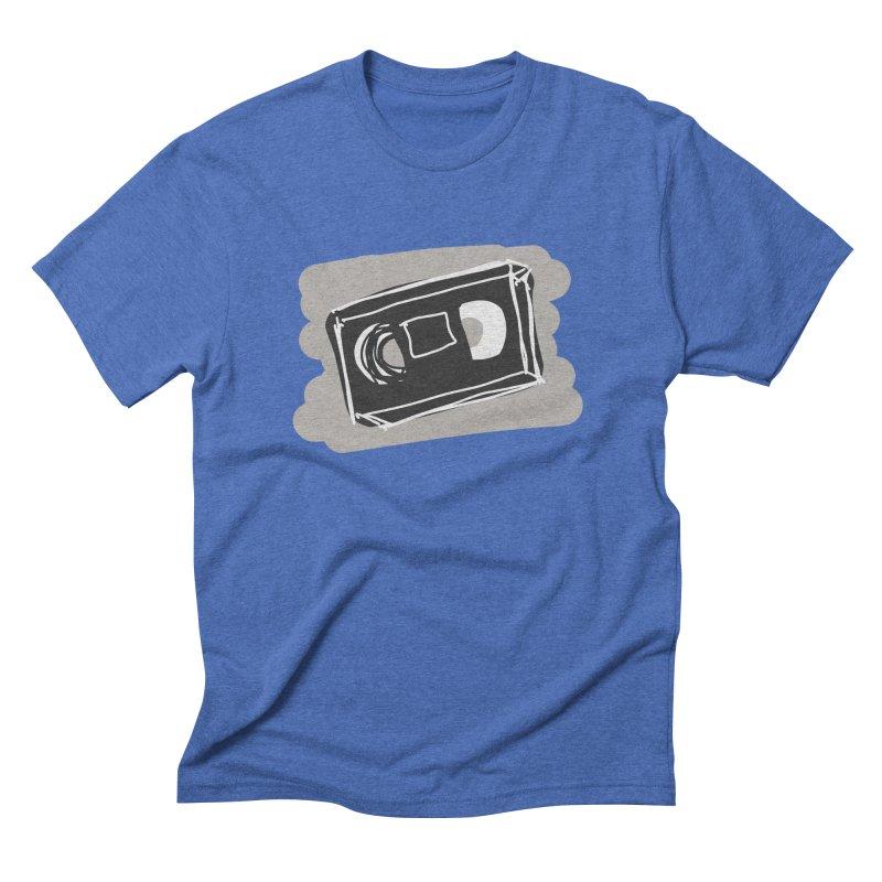 VHS Tape Men's T-Shirt by Stonestreet Designs