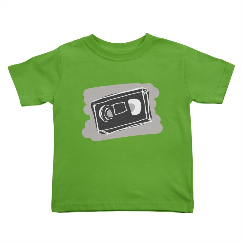 VHS Tape Kids Toddler T-Shirt by Stonestreet Designs