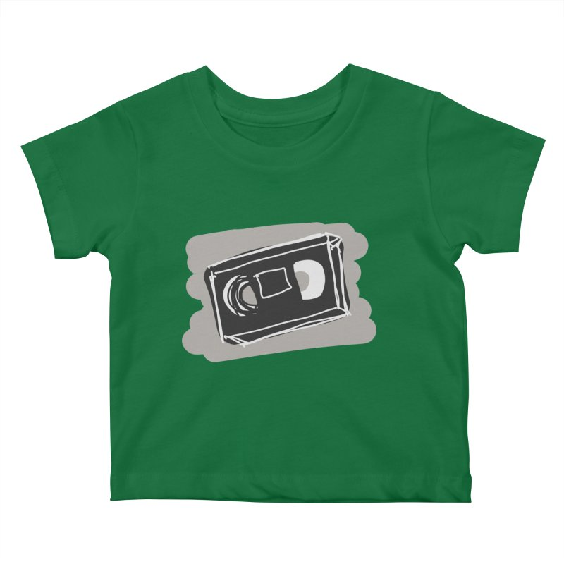 VHS Tape Kids Baby T-Shirt by Stonestreet Designs