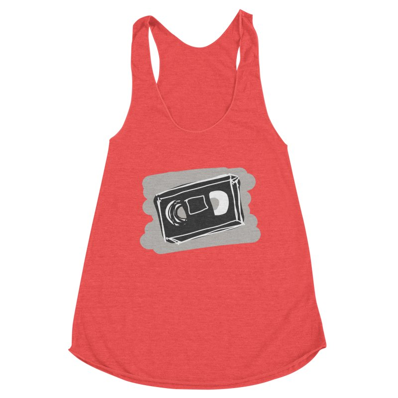 VHS Tape Women's Tank by Stonestreet Designs