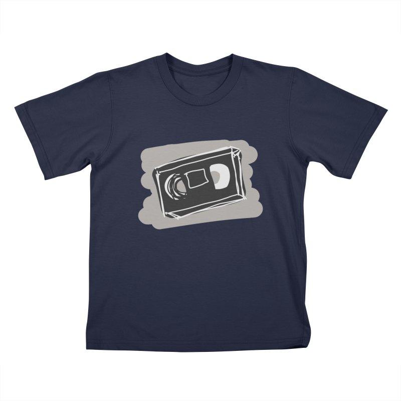 VHS Tape Kids T-Shirt by Stonestreet Designs