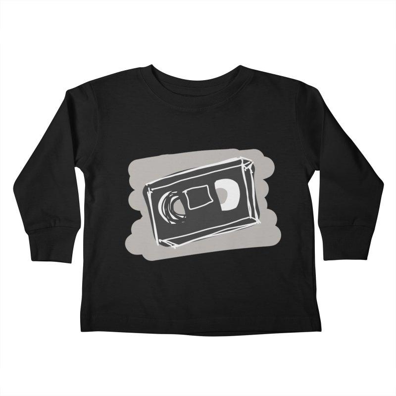 VHS Tape Kids Toddler Longsleeve T-Shirt by Stonestreet Designs