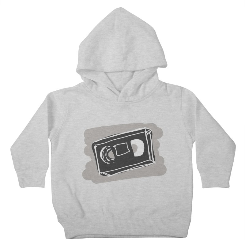 VHS Tape Kids Toddler Pullover Hoody by Stonestreet Designs