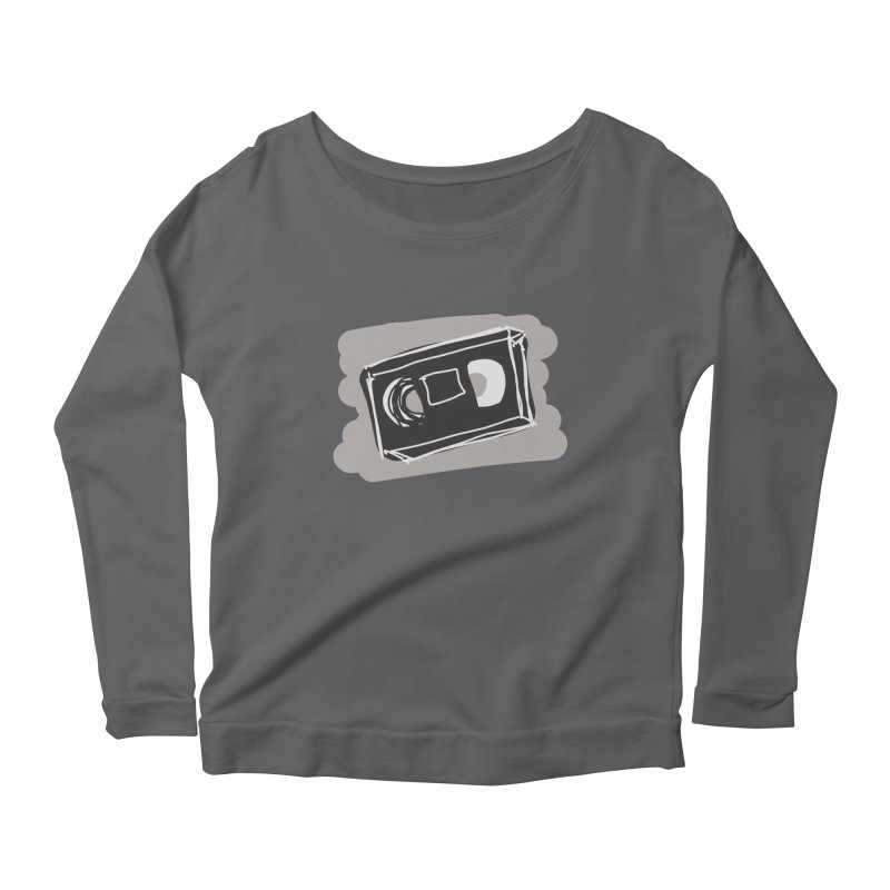 VHS Tape Women's Longsleeve T-Shirt by Stonestreet Designs