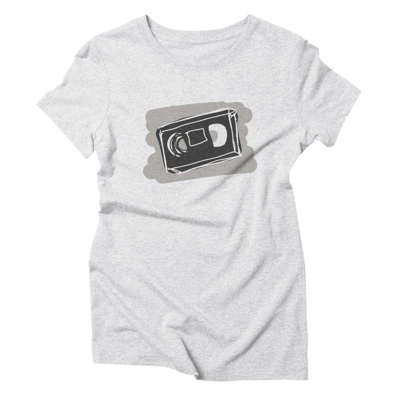 VHS Tape Women's T-Shirt by Stonestreet Designs