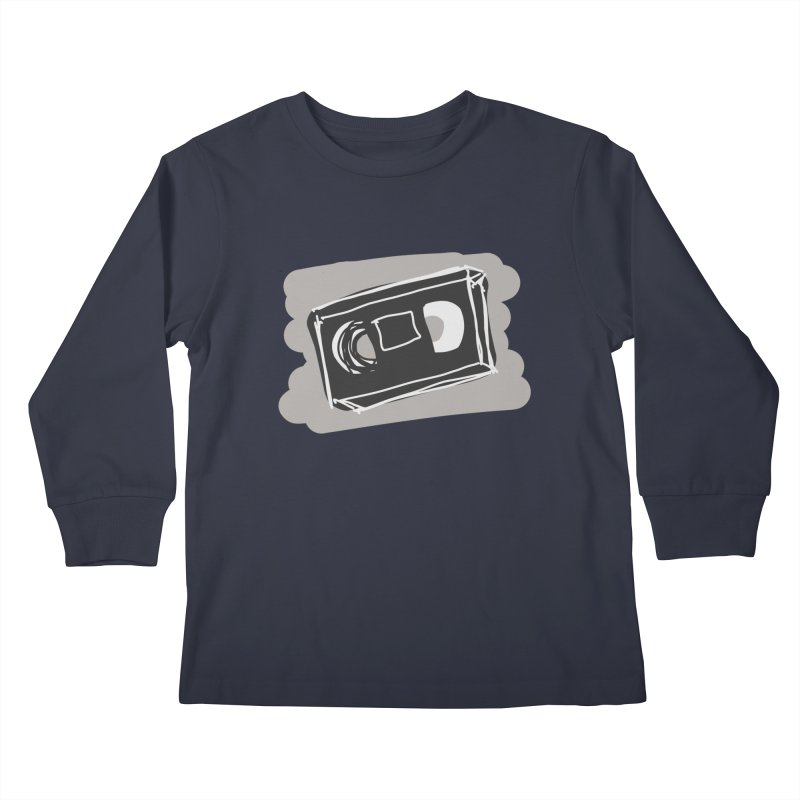VHS Tape Kids Longsleeve T-Shirt by Stonestreet Designs