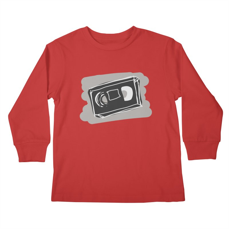 VHS Tape Kids Longsleeve T-Shirt by Stonestreet Designs