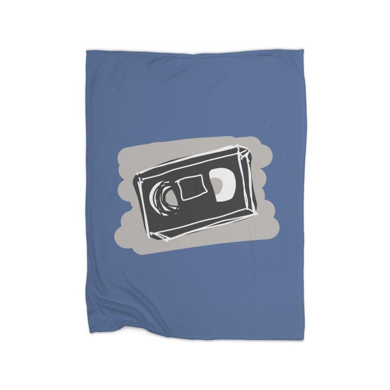 VHS Tape Home Blanket by Stonestreet Designs