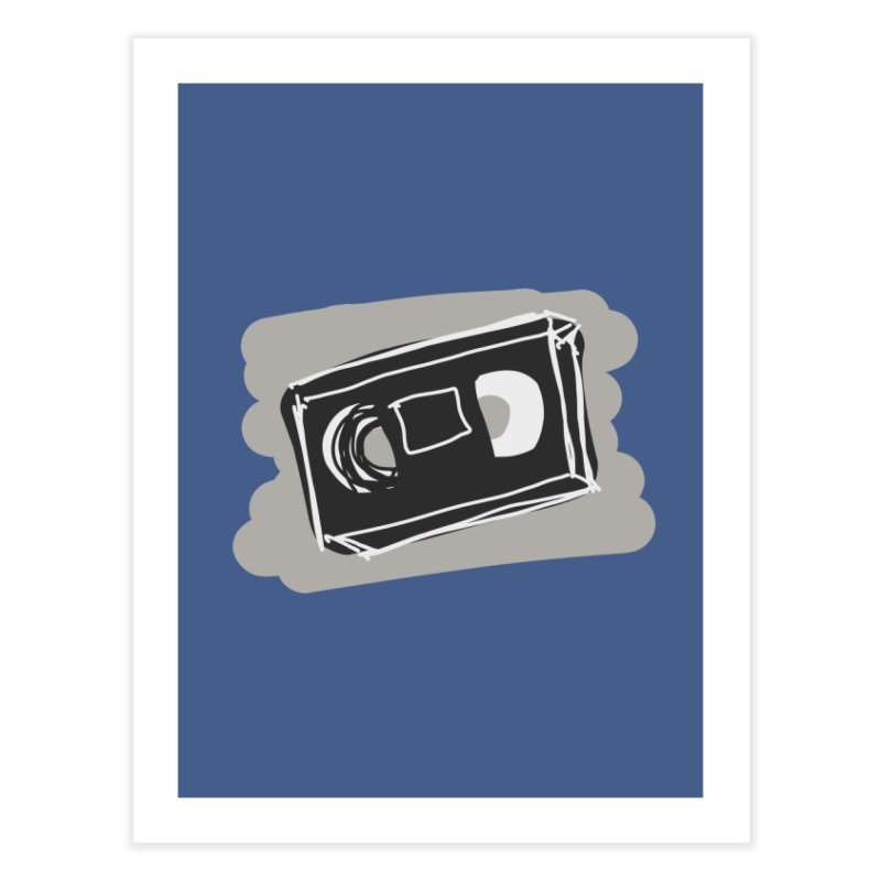 VHS Tape Home Fine Art Print by Stonestreet Designs