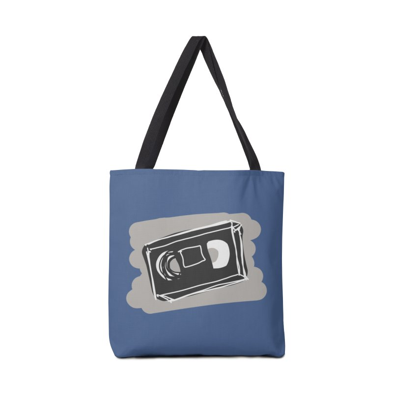 VHS Tape Accessories Bag by Stonestreet Designs