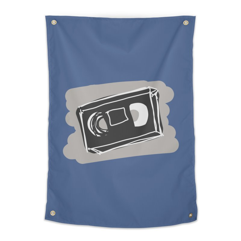 VHS Tape Home Tapestry by Stonestreet Designs