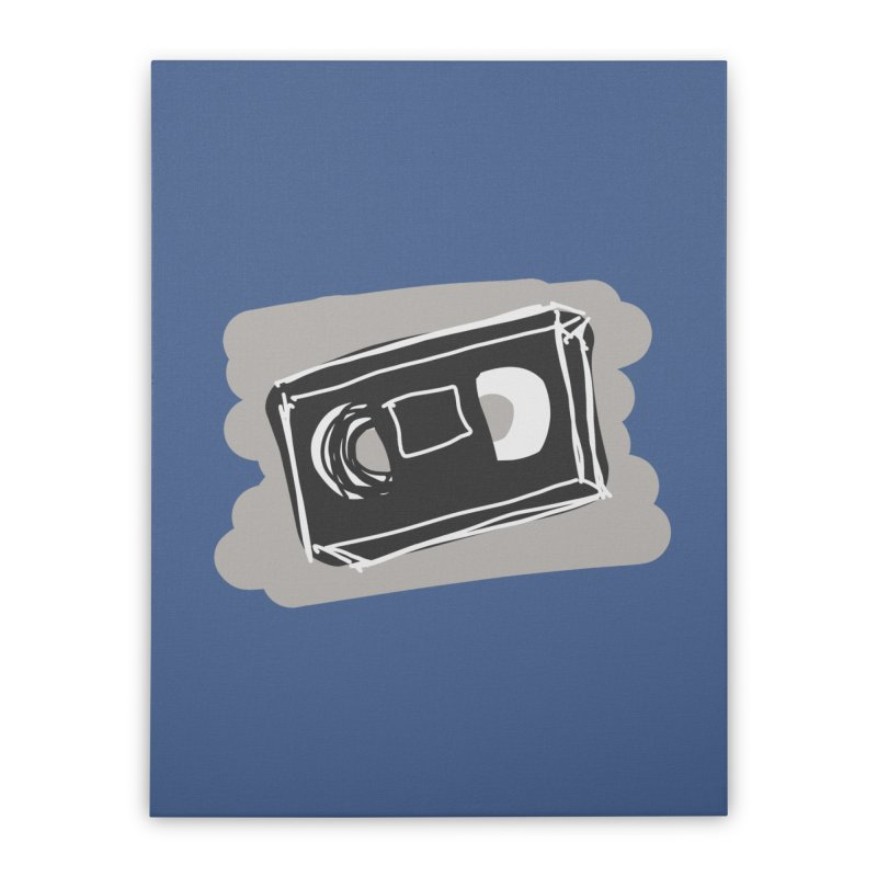 VHS Tape Home Stretched Canvas by Stonestreet Designs