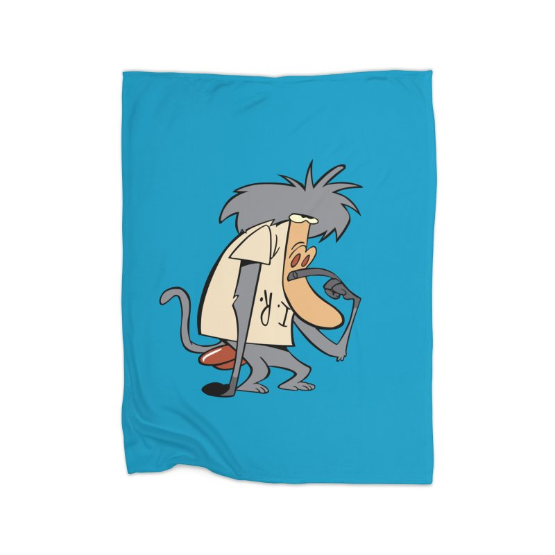 I R Baboon Home Blanket by Stonestreet Designs