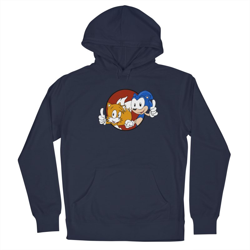 Sonic and Tails Men's Pullover Hoody by Stonestreet Designs