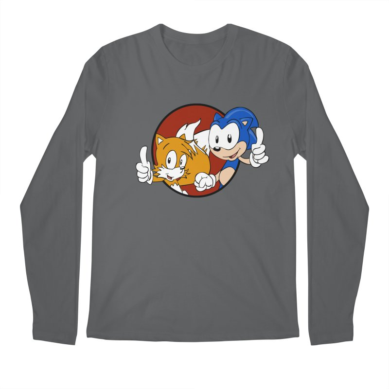 Sonic and Tails Men's Longsleeve T-Shirt by Stonestreet Designs