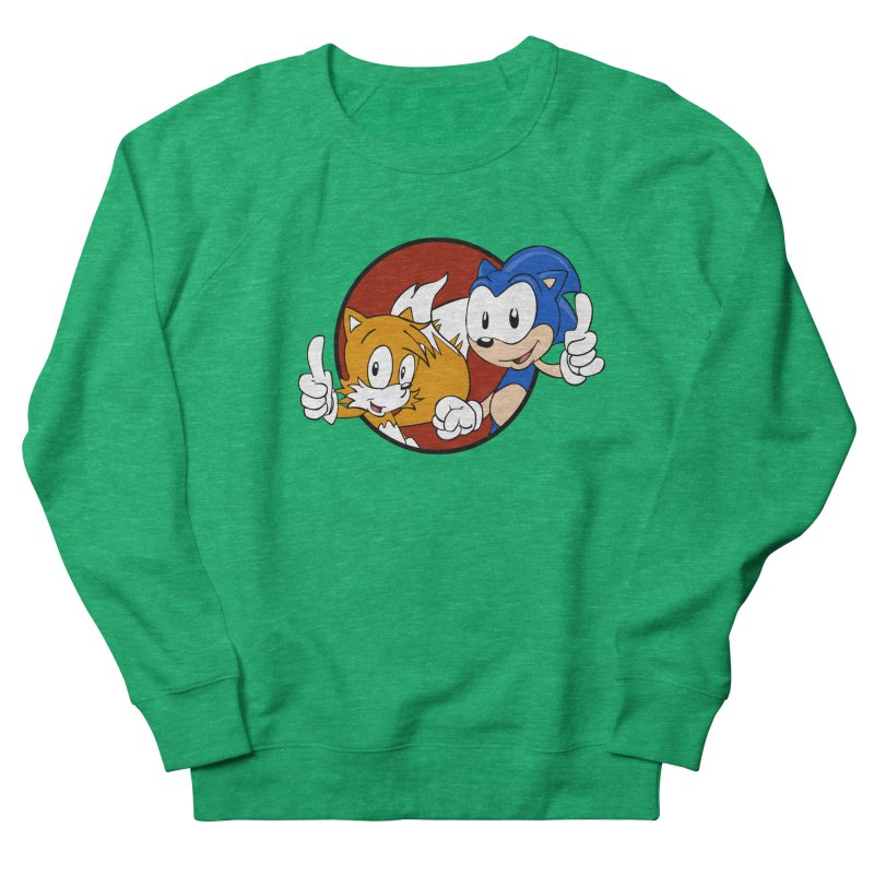 Sonic and Tails Women's Sweatshirt by Stonestreet Designs