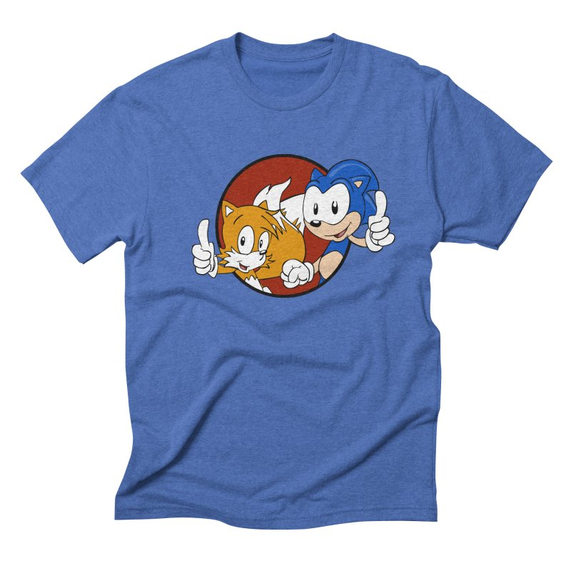 Sonic and Tails Men's T-Shirt by Stonestreet Designs