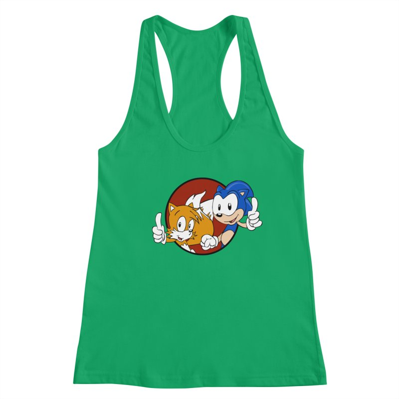 Sonic and Tails Women's Tank by Stonestreet Designs