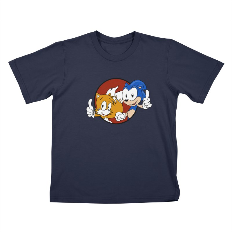 Sonic and Tails Kids T-Shirt by Stonestreet Designs