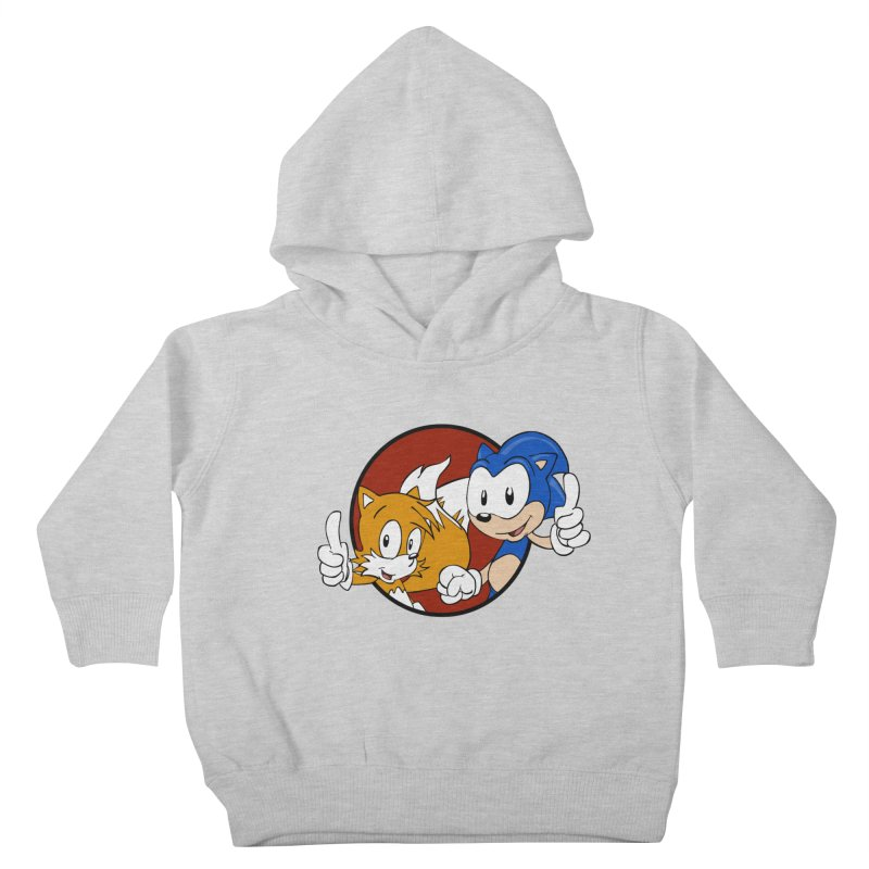 Sonic and Tails Kids Toddler Pullover Hoody by Stonestreet Designs