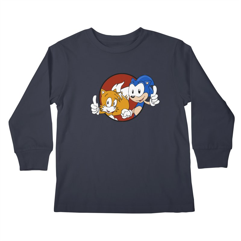 Sonic and Tails Kids Longsleeve T-Shirt by Stonestreet Designs