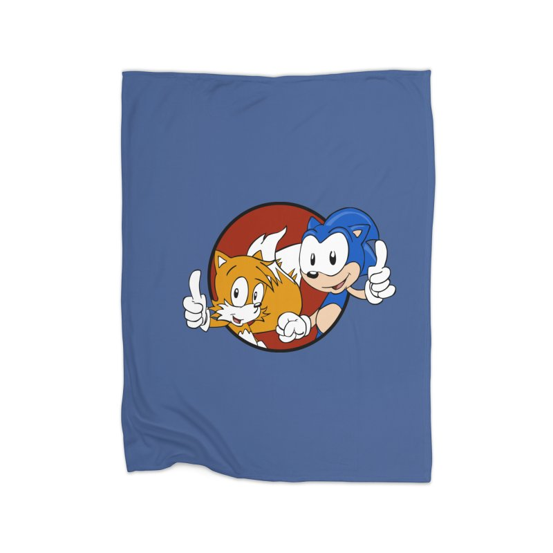 Sonic and Tails Home Blanket by Stonestreet Designs